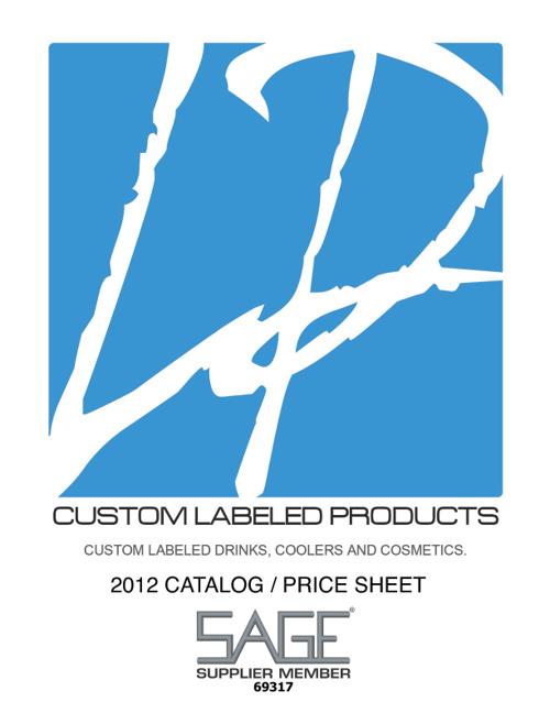 2012 Liquid Promo/Sage Catalog