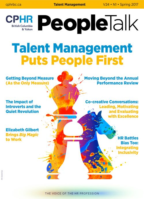 PeopleTalk - Spring 2017 - Talent Management