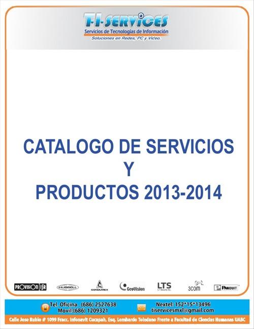 Catalogo TIServices