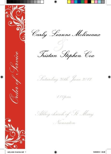 Carly wedding