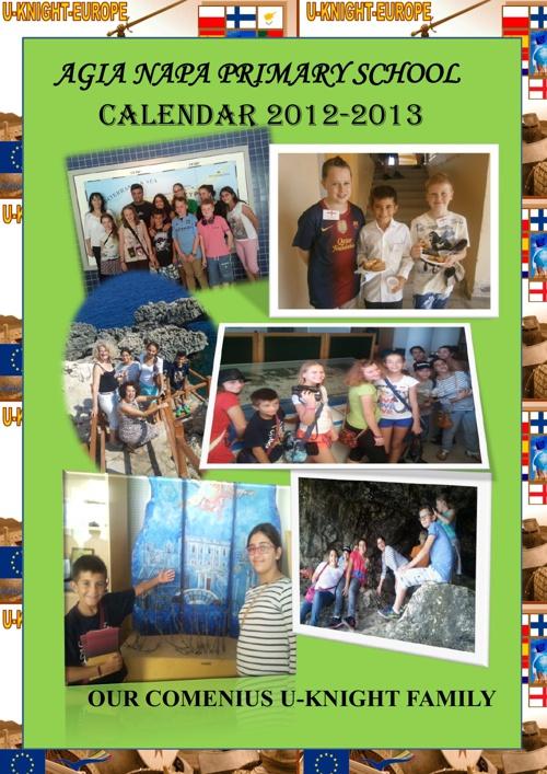 COMENIUS CALENDAR 2012-2013