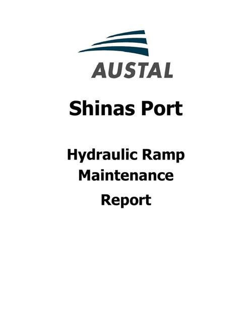 Shinas Port Hydraulic Ramp