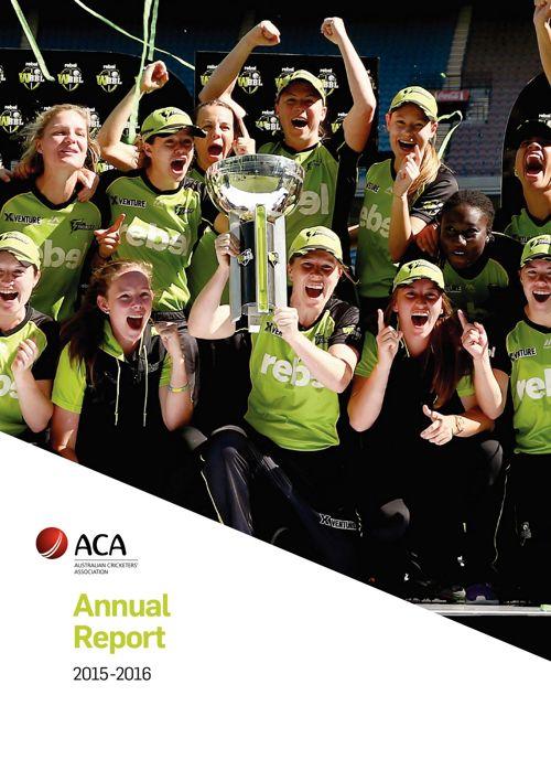 ACA Annual Report 2015-2016