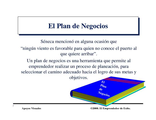 Introduccion Plan Negocios