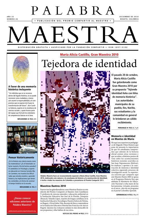 Palabra Maestra, Edición 26