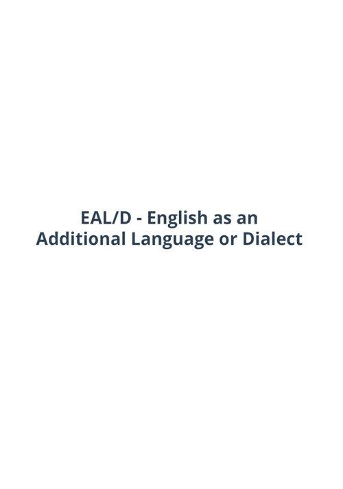 EAL/D Mini Presentation