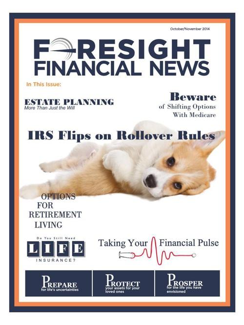 Foresight Financial News - Autumn 2014