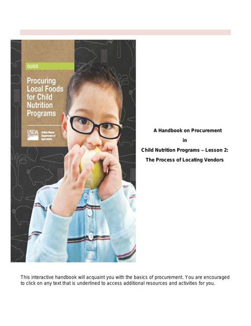A Handbook on Procurement-Lesson 2