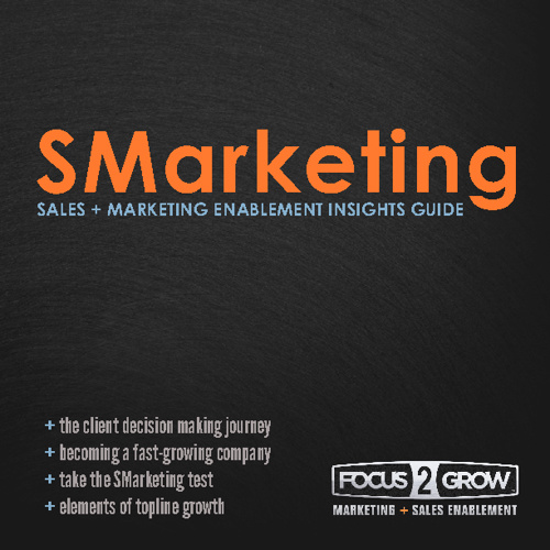 SMarketing: Sales + Marketing Enablement Insights Guide