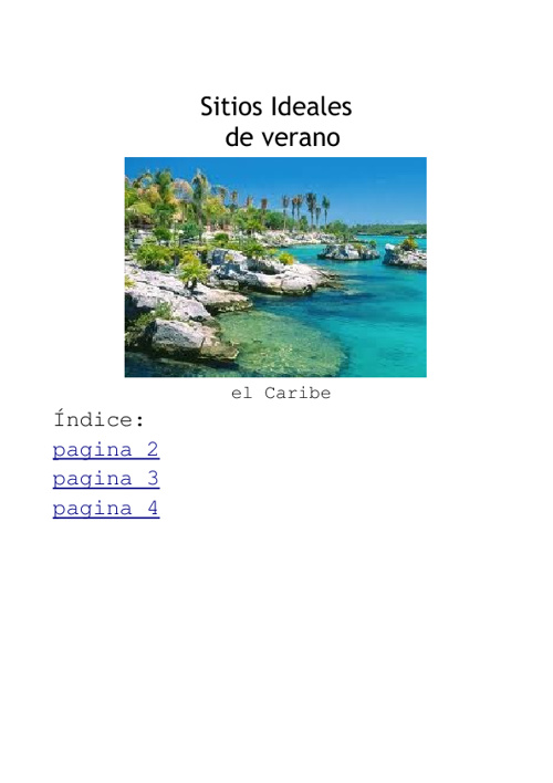 Copy of un vaje por el caribe