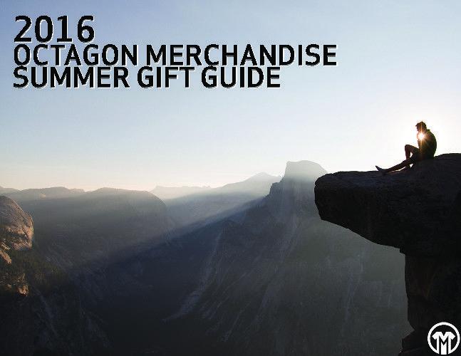 2016 Octagon Merchandise Summer Gift Guide