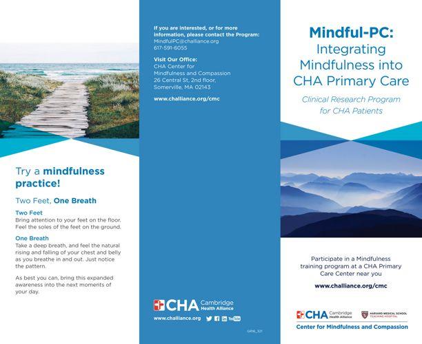 Mindfulness Brochure full