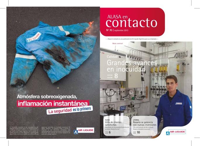 Alasa en contacto - House organ Air Liquide Argentina