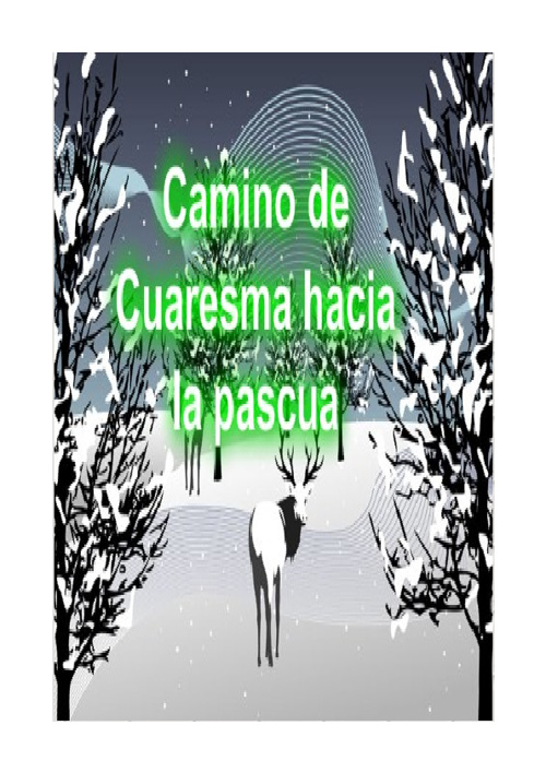 CARNET DE CUARESMA