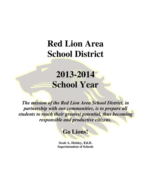 2013-14 District Brochure