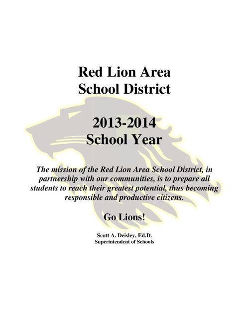 2013-14 District Brochure