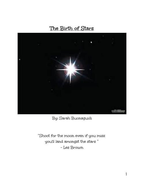 TheBirthofStars