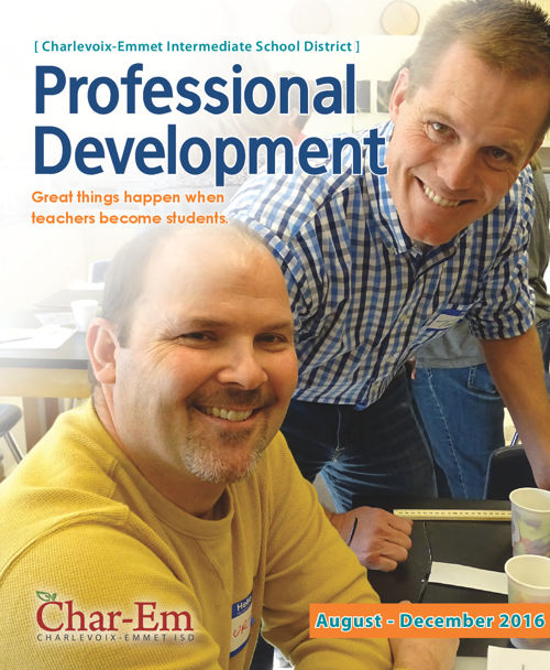 Char-Em ISD Professional Development / August - December 2016