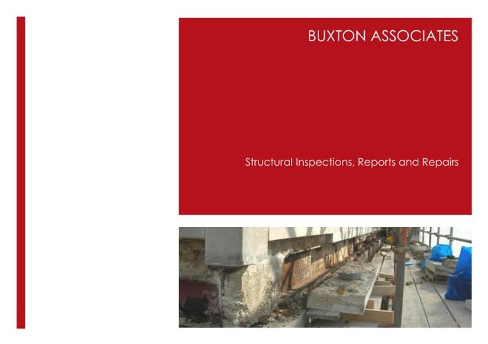 Buxton Associates: Inspections