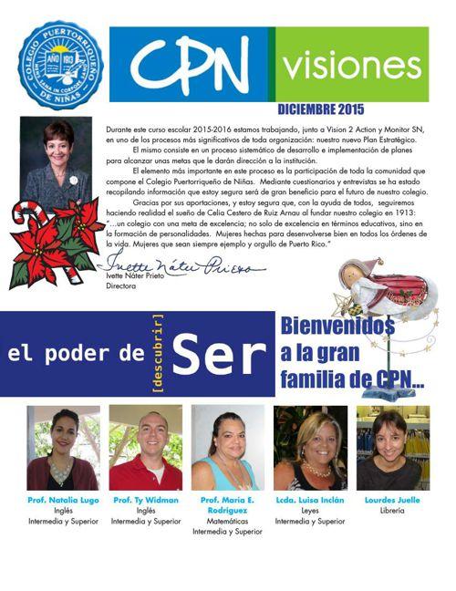 CPN Visiones - Diciembre 2015