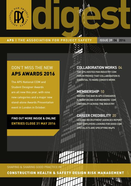 APS DIGEST Issue 39 - 04 - 2016