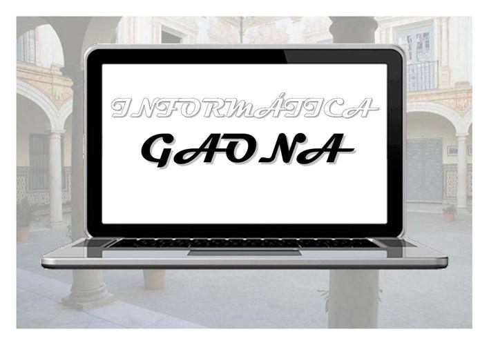 Folleto Informática Gaona