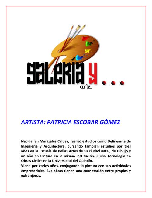 Galeria y Arte Patricia Escobar Gómez