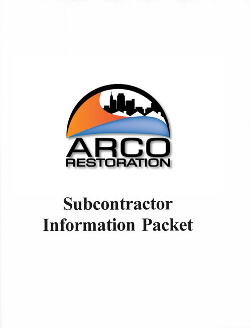 Subcontractor Information Packet