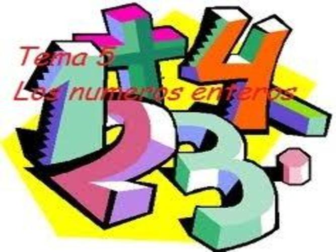 tema 5 los números enteros