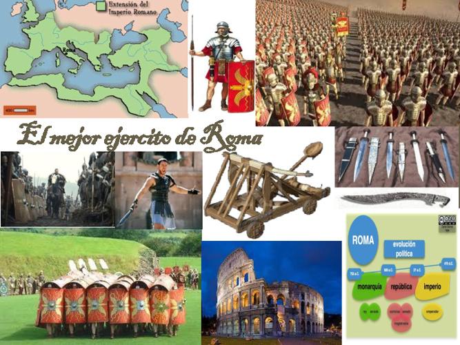 El ejército de roma