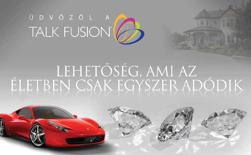 Talk fusion marketing terv