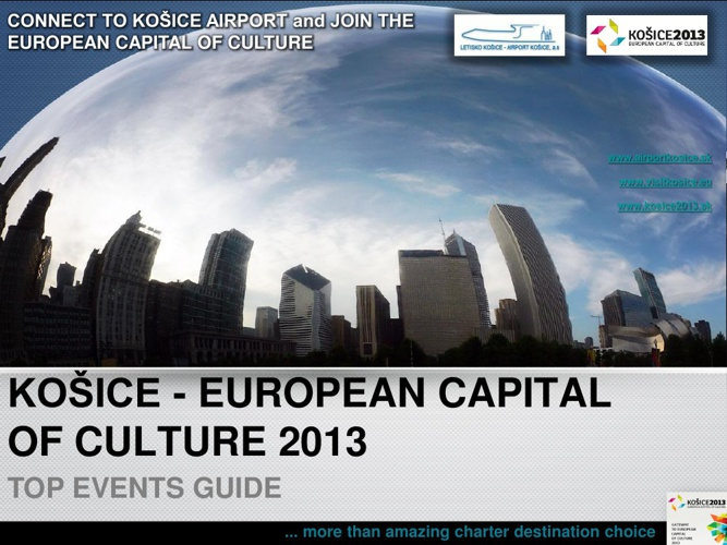 KOSICE 2013 - TOP EVENTS
