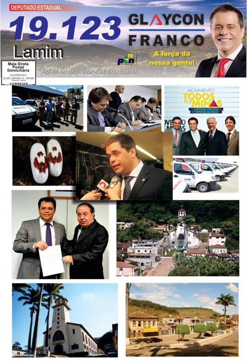 Jornal Lamim - Glaycon Franco