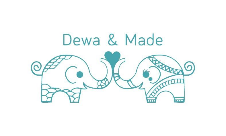 dewa+made wedding ecard
