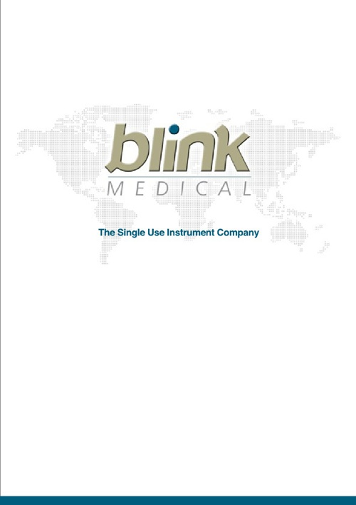 Blink Medical Catalogue