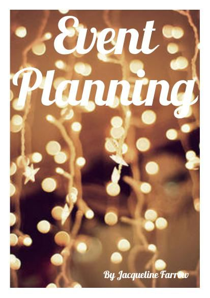 Event Planning Brochure