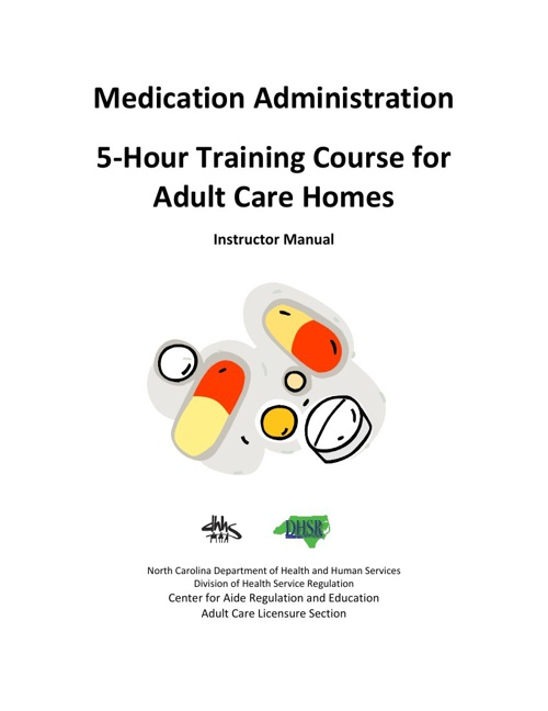 Medication Training with Handouts