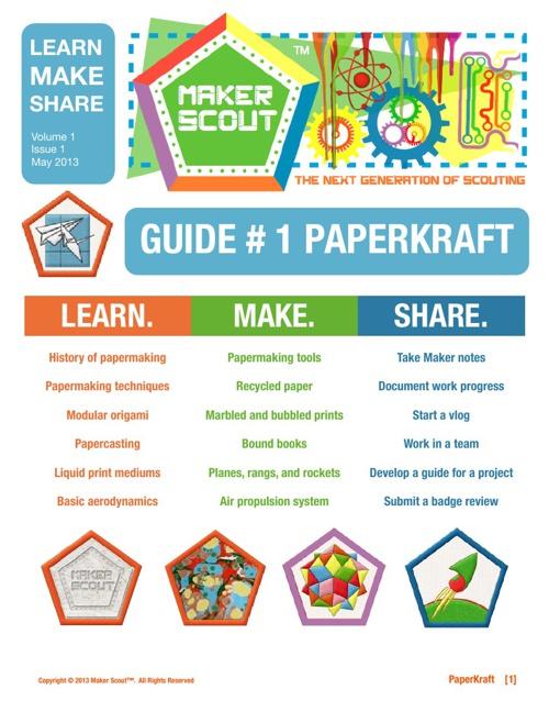 Maker Scout PaperKraft