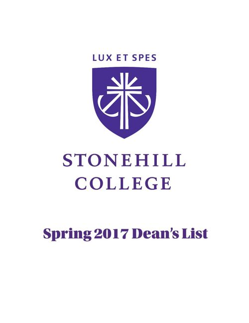 Spring 2017 Dean's List
