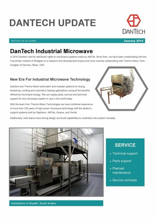 DanTech Update Jan 2014