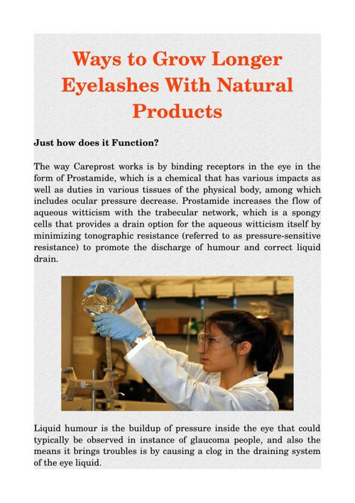 Ways to Grow Longer Eyelashes With Natural Products