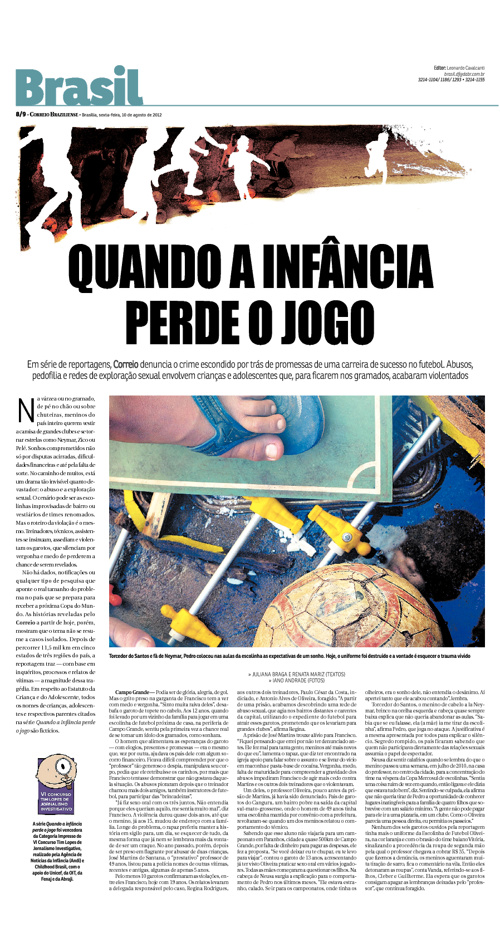 Comércio de Crianças no Mercado da Bola - Correio Braziliense