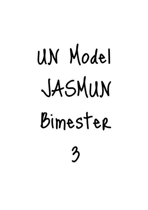 UN Model Bimester 3