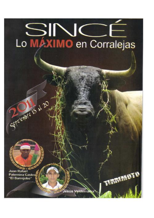 Sincé Corralejas 2011