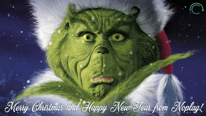Happy Holidays from Noplag.com!