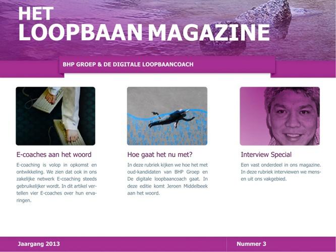 Het Loopbaan Magazine - nummer 3