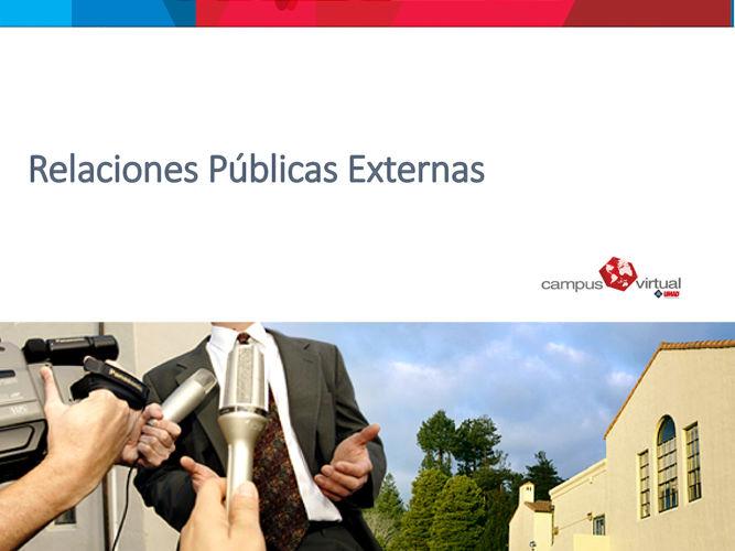 Relaciones Públicas Externas comunidad diplo