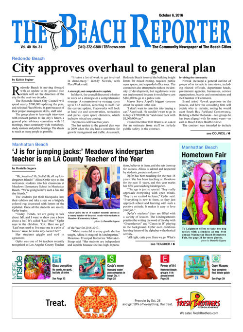 The Beach Reporter | October 6, 2016