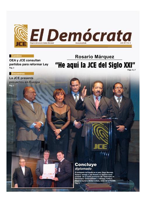 El Demócrata - Ultima Edición Julio 2011