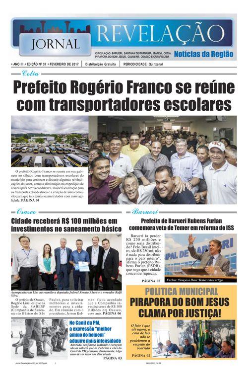 Jornal Revelação ed 37 fev 2017